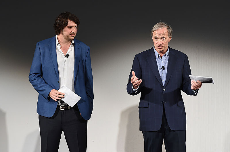 Mark and Ray Dalio, founders of OceanX