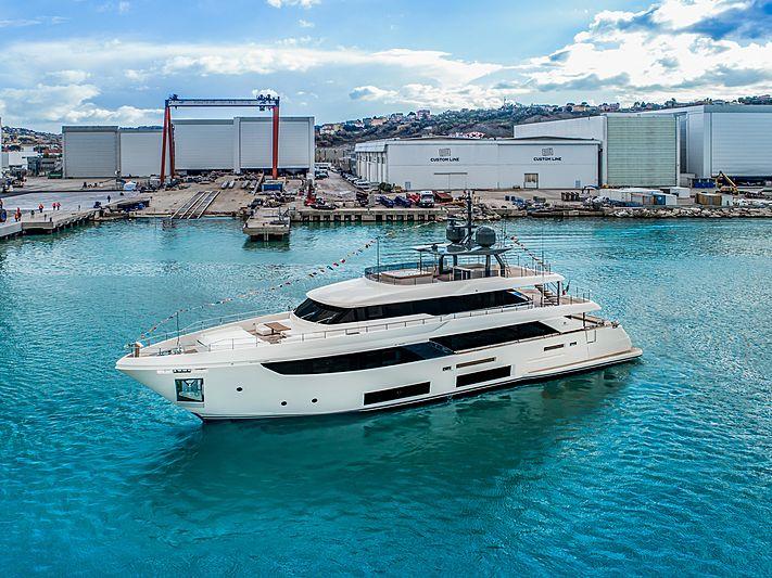 Custom Line Maria Theresa yacht in Ancona