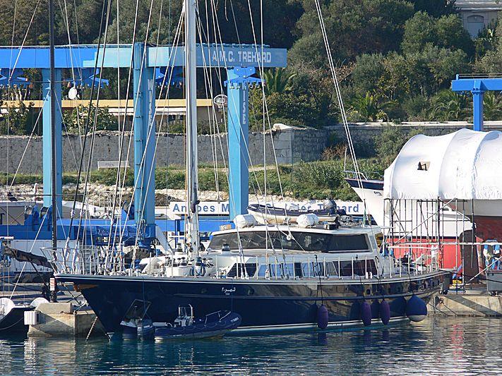 Tamer II yacht in Antibes