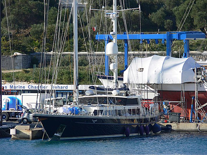 Tamer II yacht in Antibes