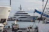 Faith yacht in Antibes