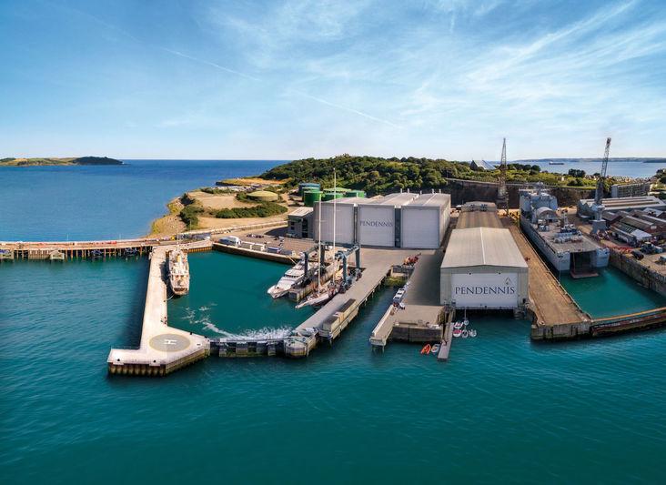 Pendennis shipyard