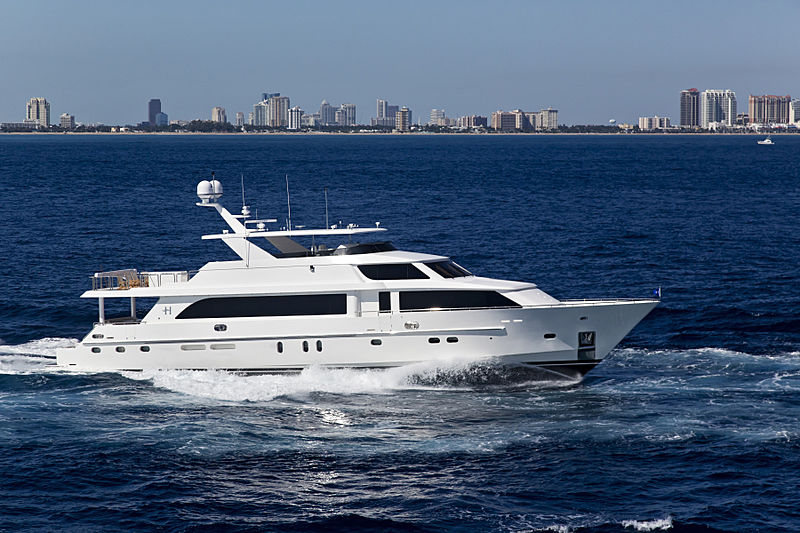 DONNA MARIE yacht Hargrave