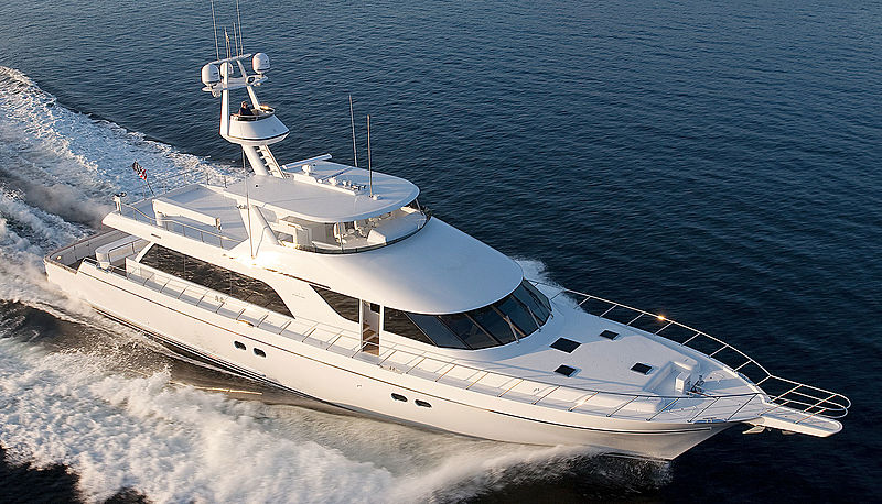 ILLUSION yacht Nordlund Boat Company. Inc.