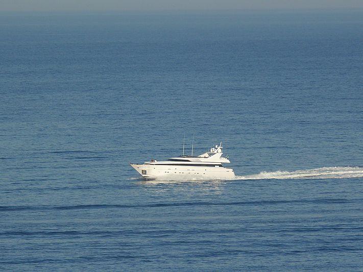 Diletta yacht cruising off Porto Ercole
