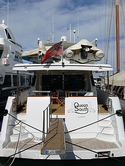 Queen South yacht in Antibes
