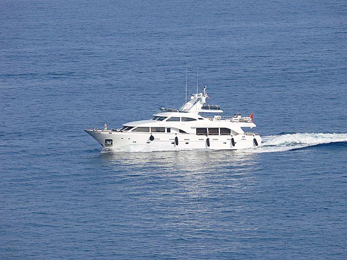 Libra Star yacht arriving in Monaco