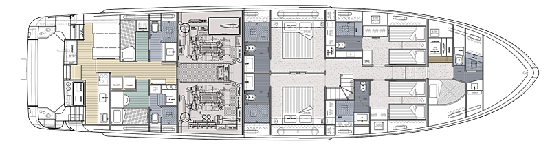 Ragnar yacht layout