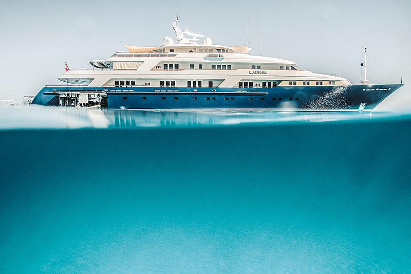 Laurel yacht by Delta in Bahamas