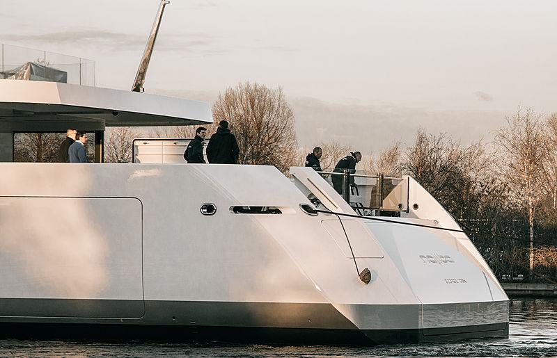 Najiba yacht launch Feadship