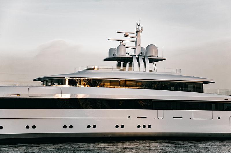 Najiba yacht launch at Feadship