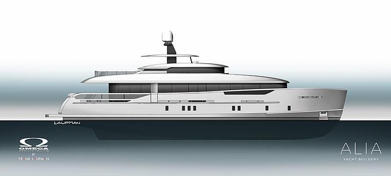 Project Nozomi Alia Yachts
