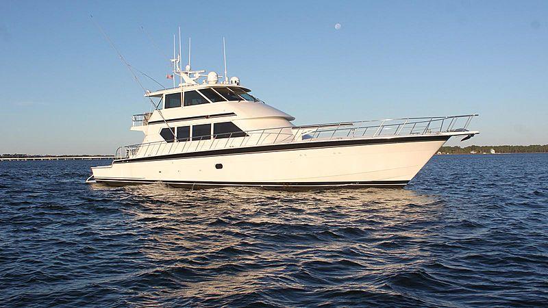 TITAN yacht Hatteras