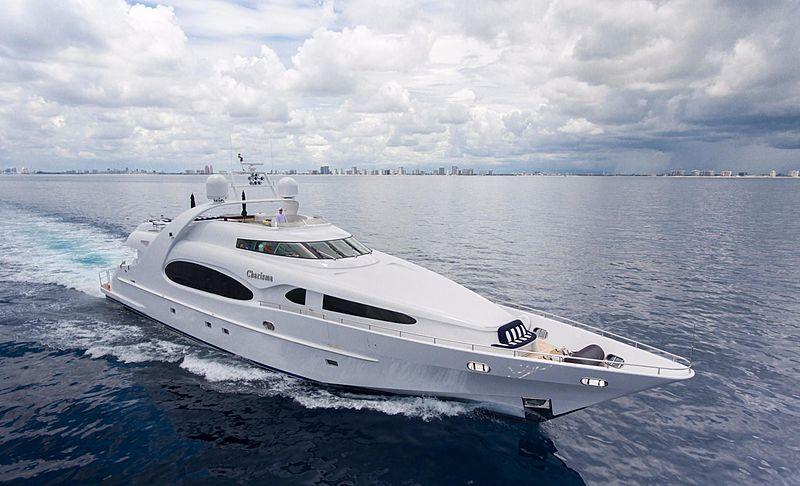 Charisma yacht cruising
