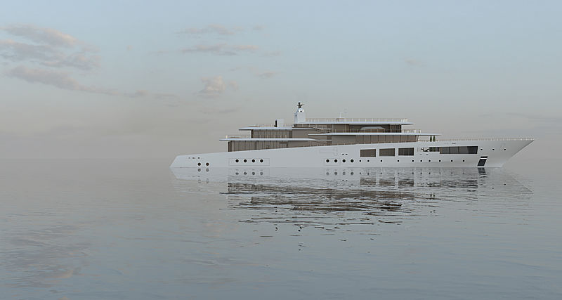 LAVILLA yacht concept by Jérémy Kitzinger and Lateral Naval Architects