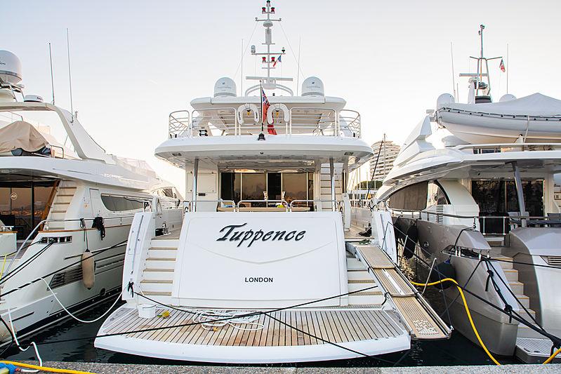 Tuppence yacht in Villeneuve Loubet