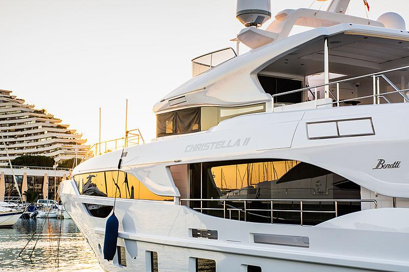 Christella II yacht in Villeneuve Loubet