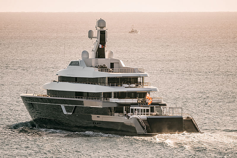 Lonian yacht by Feadship in Fort Lauderdale