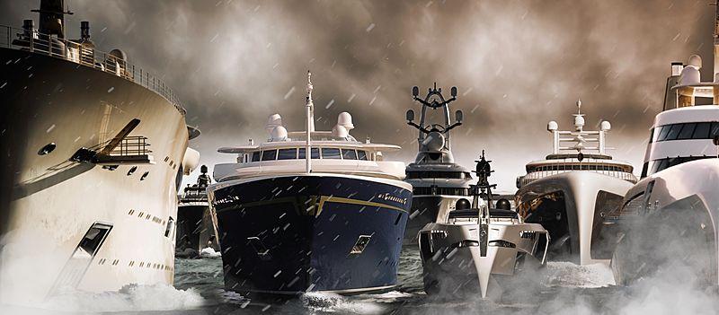 Superyacht fleet