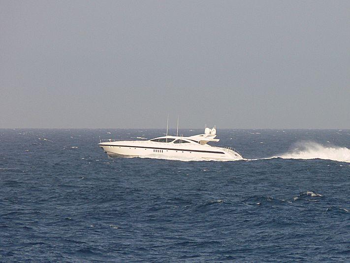 AWESOME II yacht Overmarine