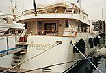 Executive yacht in Piraeus