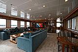 Meteor yacht saloon