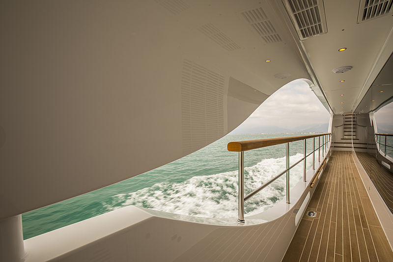 Skyler yacht deck