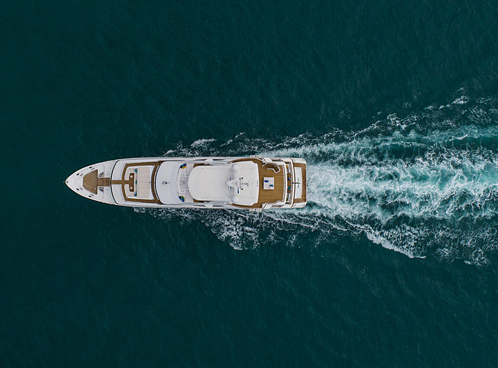 Skyler yacht cruising