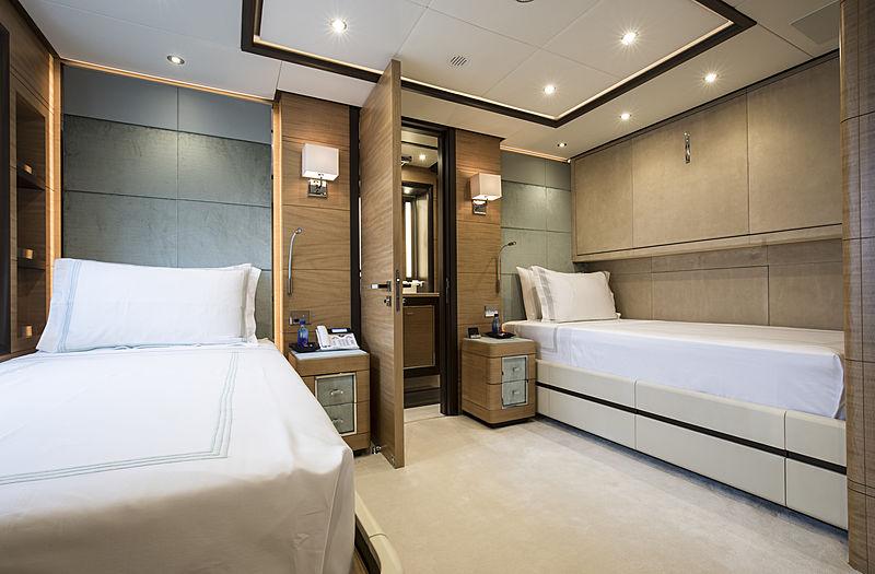 Skyler yacht stateroom