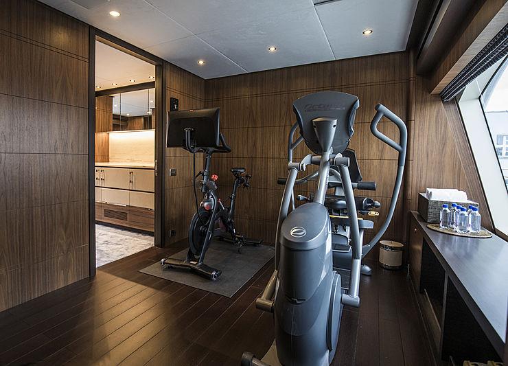 Skyler yacht fitness