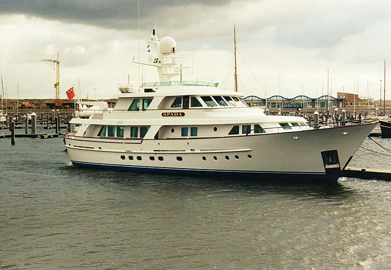 Spada yacht in Ijmuiden