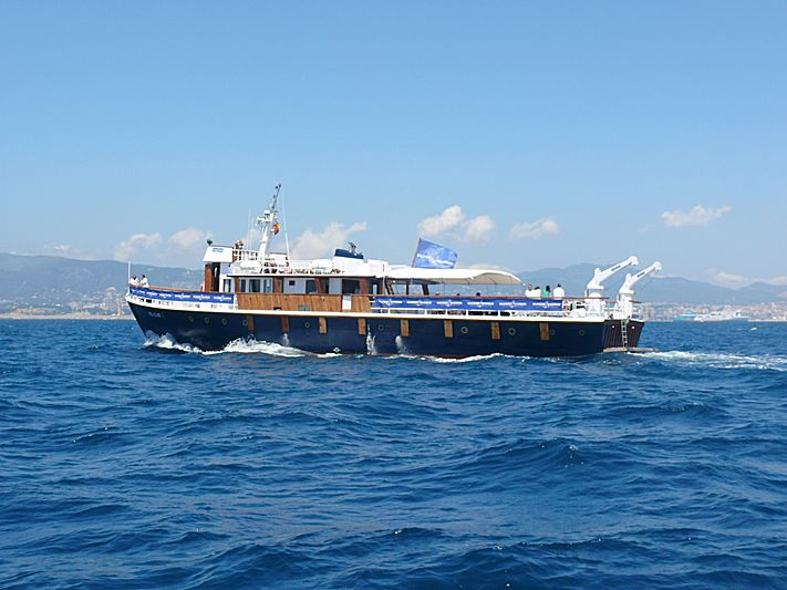 SANDVIG yacht Danish Royal Dockyard