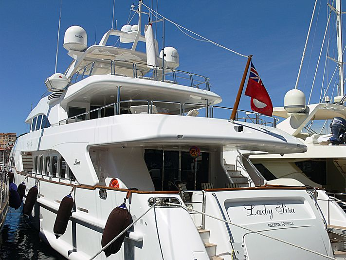 Lady Sisa yacht in Cannes