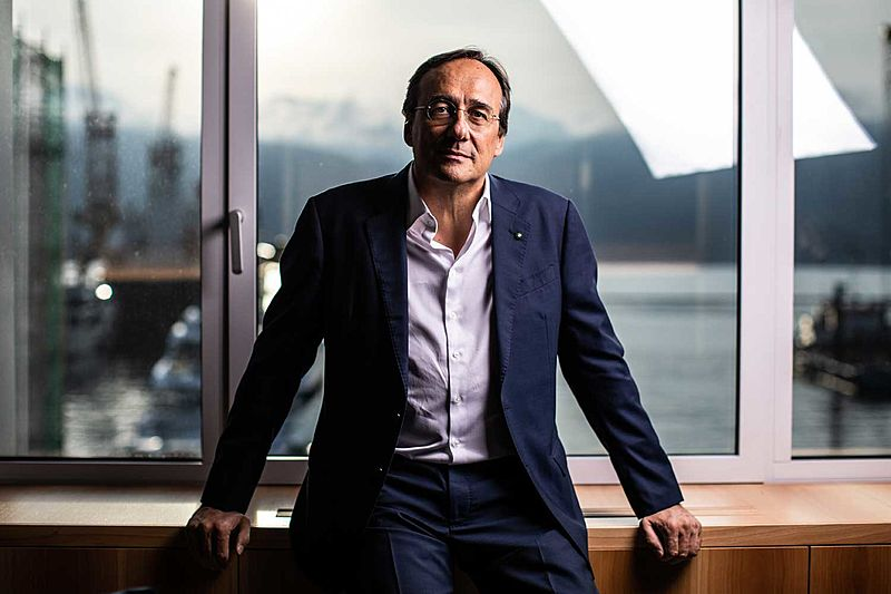 Massimo Perotti Sanlorenzo CEO
