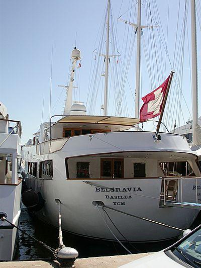Belgravia yacht in Monaco