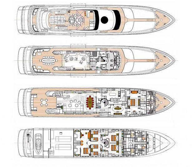 Balista yacht layout
