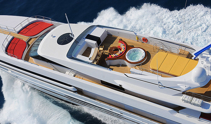 Balista yacht sun deck