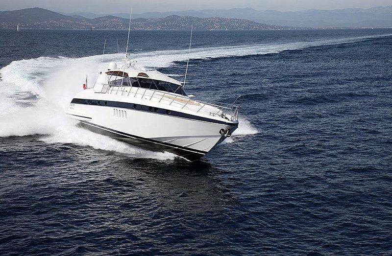 MAMBA  yacht Overmarine