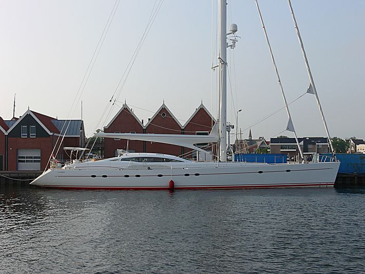 Red Sula yacht in Urk