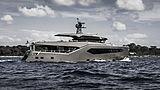 Rock yacht cruising
