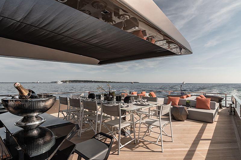 Rock yacht sky lounge