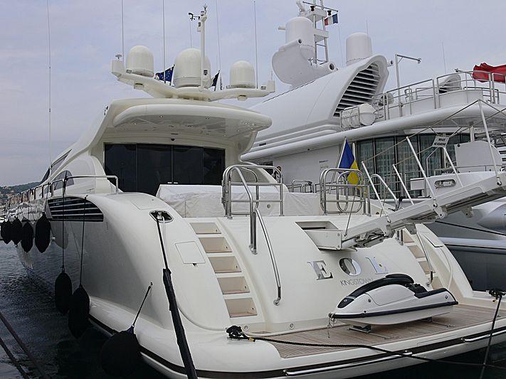 Eol B yacht in Golfe-Juan