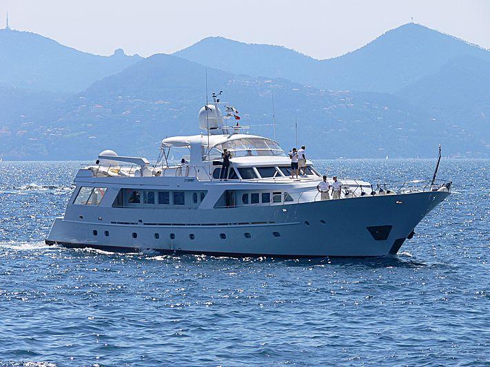 INDIA yacht Benetti