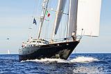 Principessa Vaivia yacht sailing in Porto Cervo