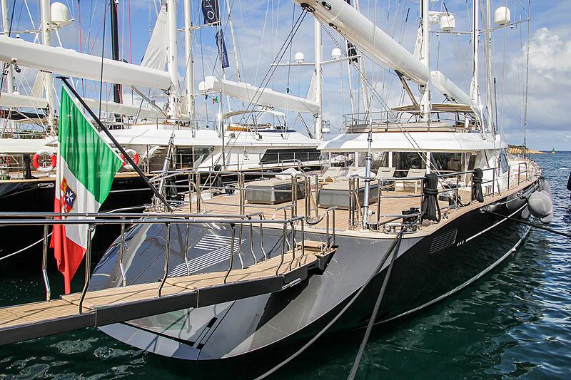 Seven yacht in Porto Cervo
