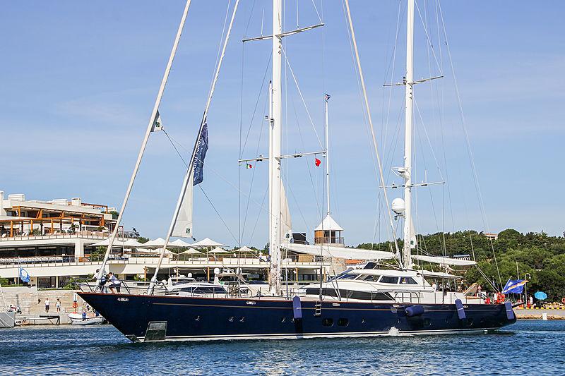 Khaleesi yacht in Porto Cervo