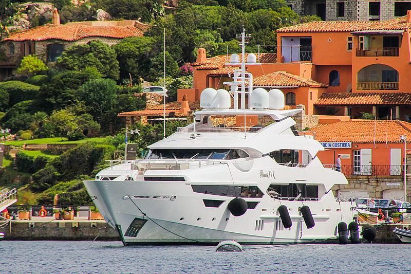 Princess AVK yacht in Porto Cervo