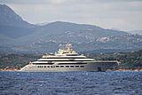 Dilbar yacht in Porto Cervo