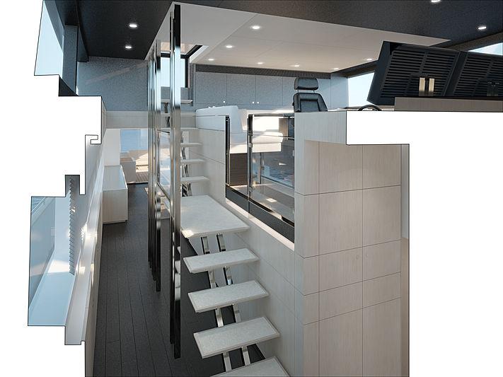 Jangada 2 yacht interior design
