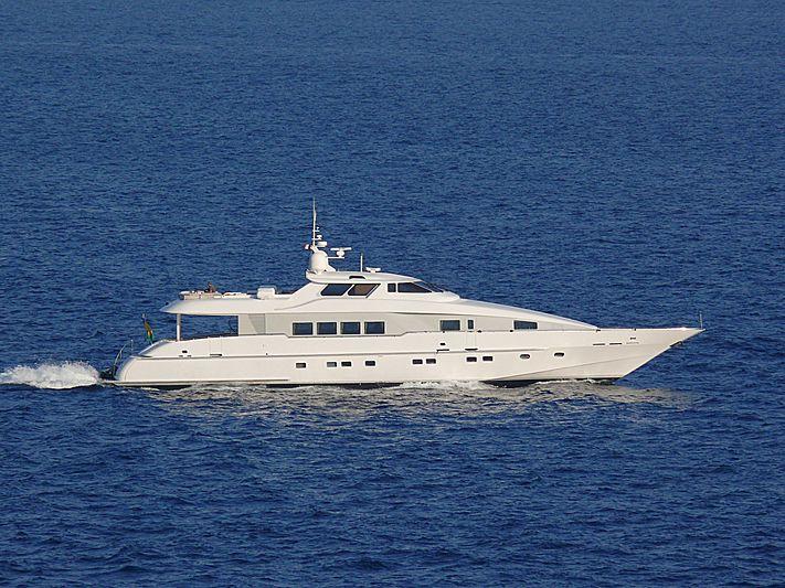 Sun Ark yacht cruising off Monaco